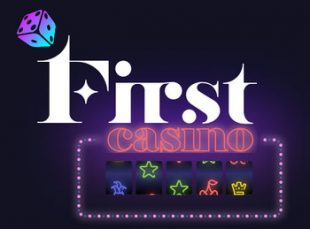 first casino logo